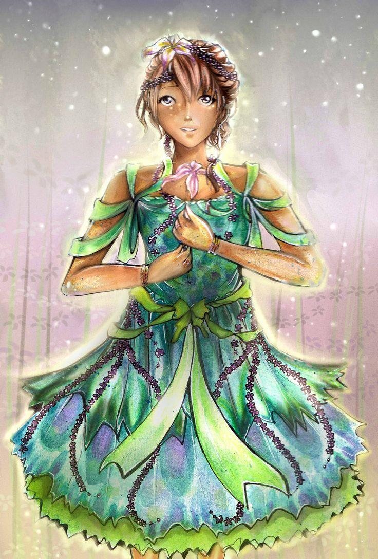 Flower Girl by NinjaWithAHat.deviantart.com on @deviantART