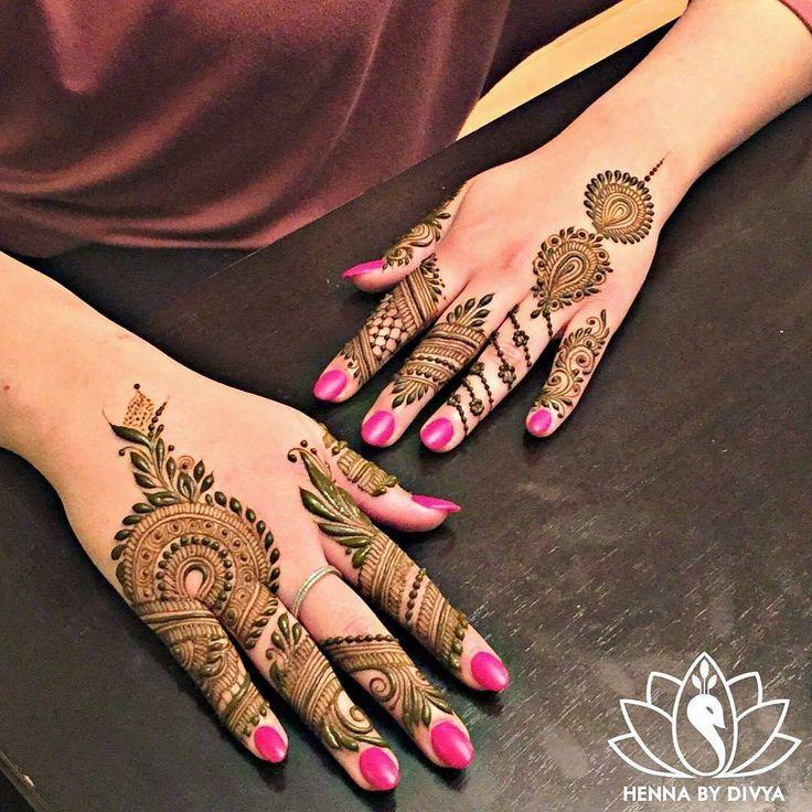 """7,525 Likes, 10 Comments - ✨ Daily Henna Inspiration ✨ (@hennainspo_) on Instagram: """"stunninggg ⚡ // by @hennabydivya - with inspirations from @henna_nurahshenna . . . #henna #mehndi…"""""""