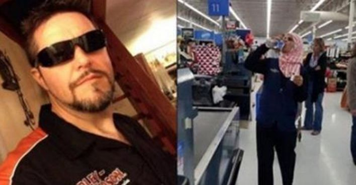 A man visiting his local Walmart repeatedly noticed an employee proudly declaring his veteran status by wearing pins on his hat. It warmed his heart.