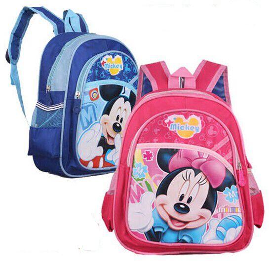 Kid Bag Kindergarten Children Schoolbag Mickey Backpack Boys Girls School Bags Kids Backpack Shoulder Bag Mochila Infantil