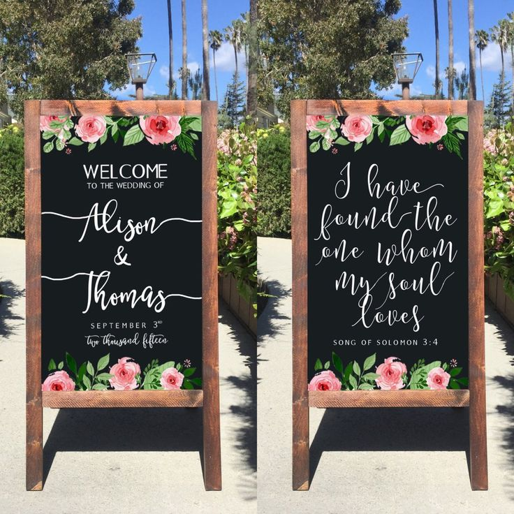 Rustic Wedding Sign - I Have Found The One Whom My Soul Loves Song Of Solomon Bible Verse Welcome Wedding Sandwich Board