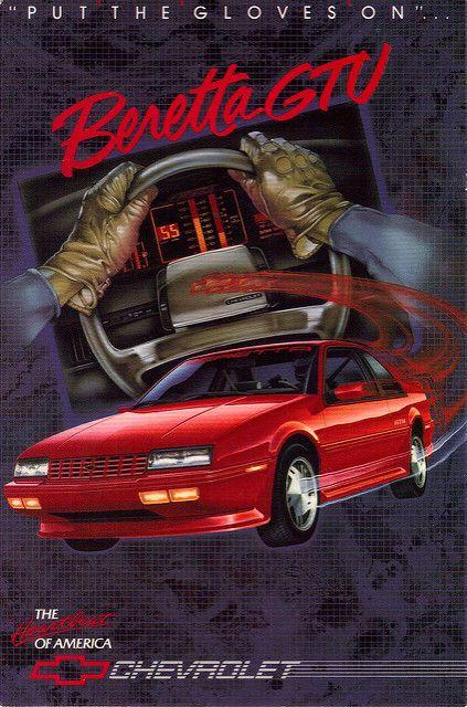 1988 Chevrolet Beretta GTU by coconv on Flickr.