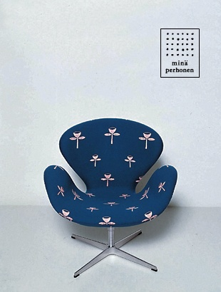 MINA PERHONEN & FRITZ HANSEN, CHAIR 2004: japanese textile/fashion designer meets danish furniture designer. fireworks.