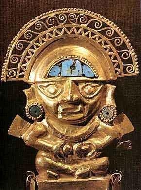Inti  ( Intu  ou Apu-Punchau ) era o poderoso deus inca do Sol, irmão e marido de Mama-Quilla , a deusa da Lua, e filho de Viracocha  e Mama...