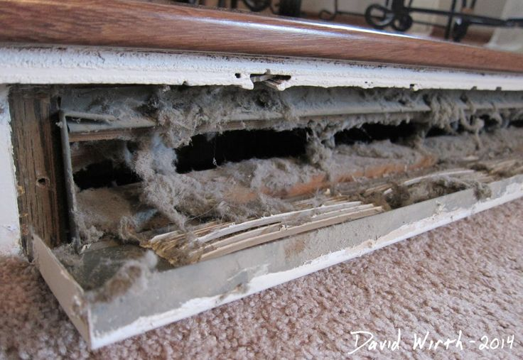 How to Clean your own air heat ducts like the pros for free