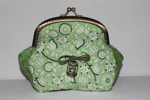 Green purse with bow (8)