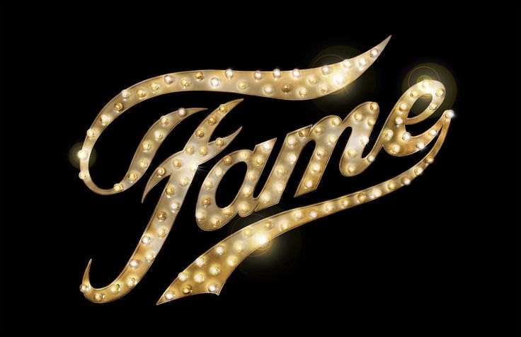 Broadway Musical Logos | fame the musical is a stage ...