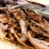 Home Made Chicken Doner Kebab With Yogurt Sauce Recipe