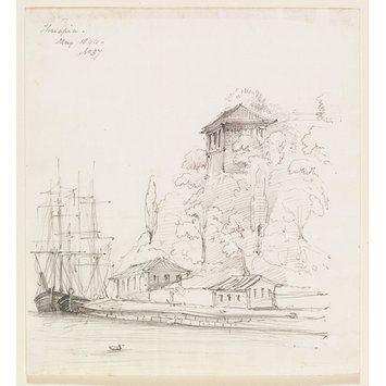 Therapia (Drawing) Turkey Sir George Scharf 1844