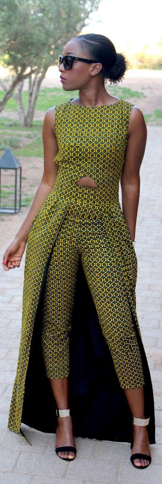 17 bästa idéer om African Outfits på Pinterest | Afrikanskt mode ...