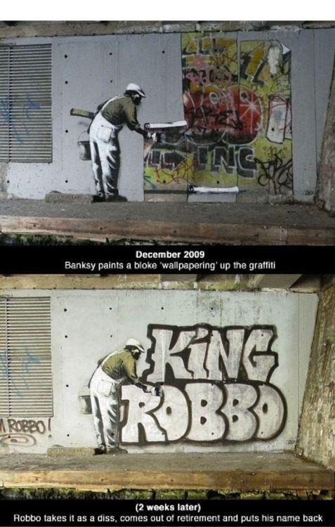 When Famous Graffiti Artists Duel