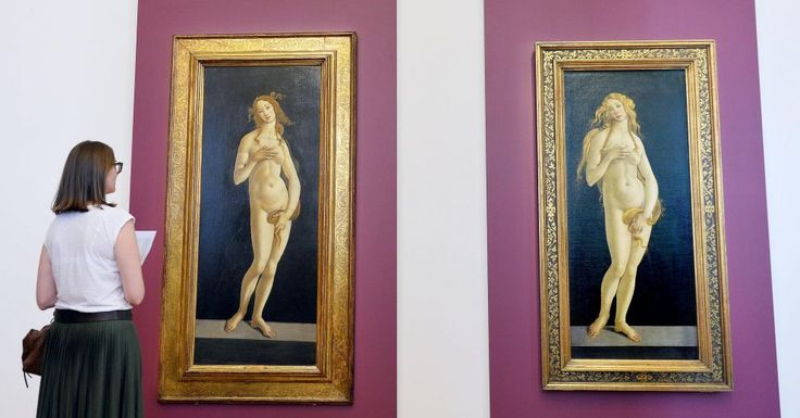 "Photo published for ""Venere incontra Venere"", in mostra a Torino le due ""sorelle"" di Botticelli"