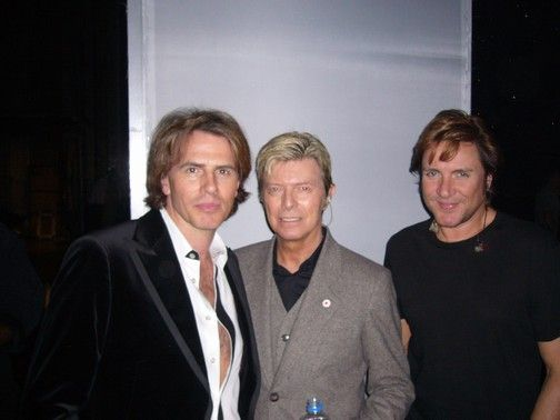 Bowie's Let's Dance Radio doc feat. interview with Duran Duran's John Taylor and Simon LeBon.