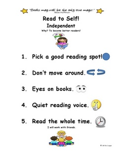 Little Miss Kindergarten - Lessons from the Little Red Schoolhouse! FREEBIE: Kindergarten Free Reading, Little Red, Kindergarten Reading, Red Schoolhouse, Kindergarten Lessons, Miss Kindergarten, Daily 5 Posters, Classroom Posters, Anchors Charts