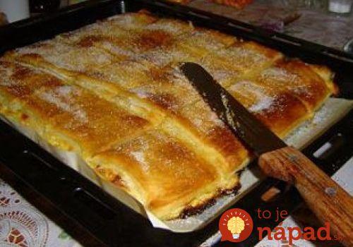 Tvarohová perinka: Báječný koláč s tvarohovou náplňou, taký jemný, že sa rozpúšťa na jazyku!