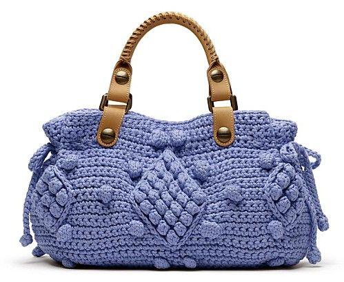 Gorgeous Crochet Handbag: charts