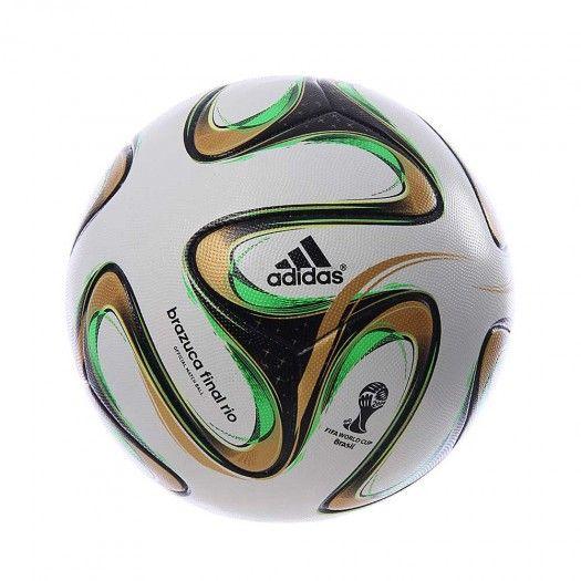 El Balón Oficial Adidas Brazuca Rio Final Topglide está confeccionado con materiales de primera calidad, diseñado para repeler el agua y superficie térmicamente sellada.