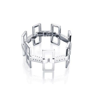 Efva Attling- Ultimate Love Bracelet Ultimate Love Bracelet is an art deco inspired silver bracelet with the word 'love' in different languages.