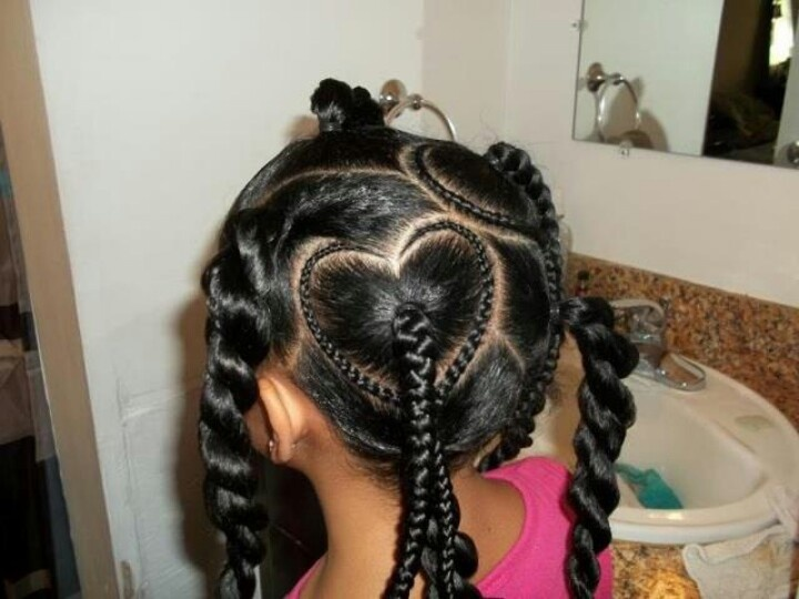 Peachy 1000 Images About Kids Hairstyles On Pinterest Chocolate Hair Short Hairstyles For Black Women Fulllsitofus
