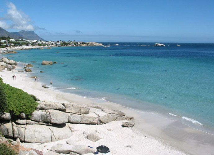 The most beautiful beach in the world. Clifton - Cape Town, South Africa.