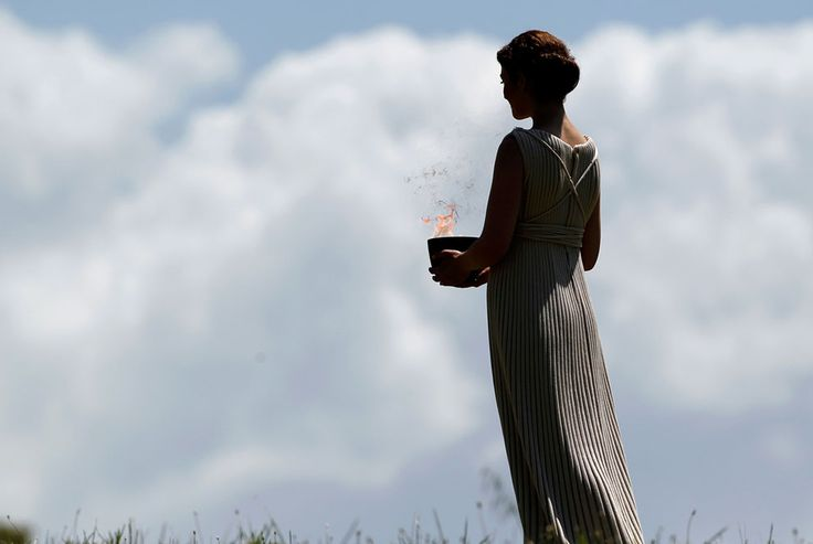 Lighting the 2012 Olympic Flame - In Focus - The Atlantic