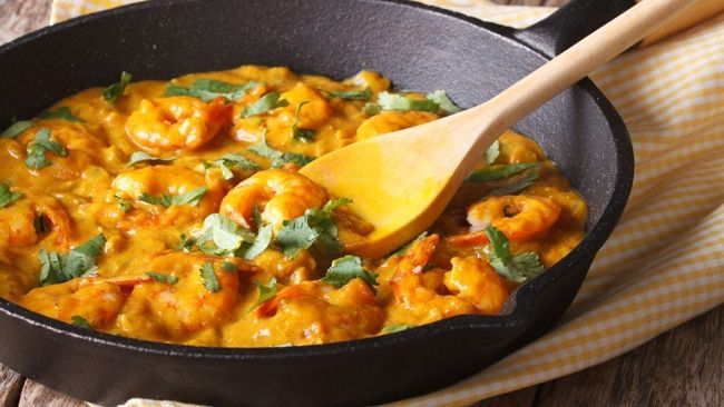 If you're after a quick meal that tastes delicious, this curry takes less than 20 minutes to make.