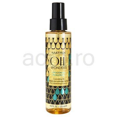 Matrix Oil Wonders ulei hranitor stralucire pentru parul ondulat si cret | aoro.ro