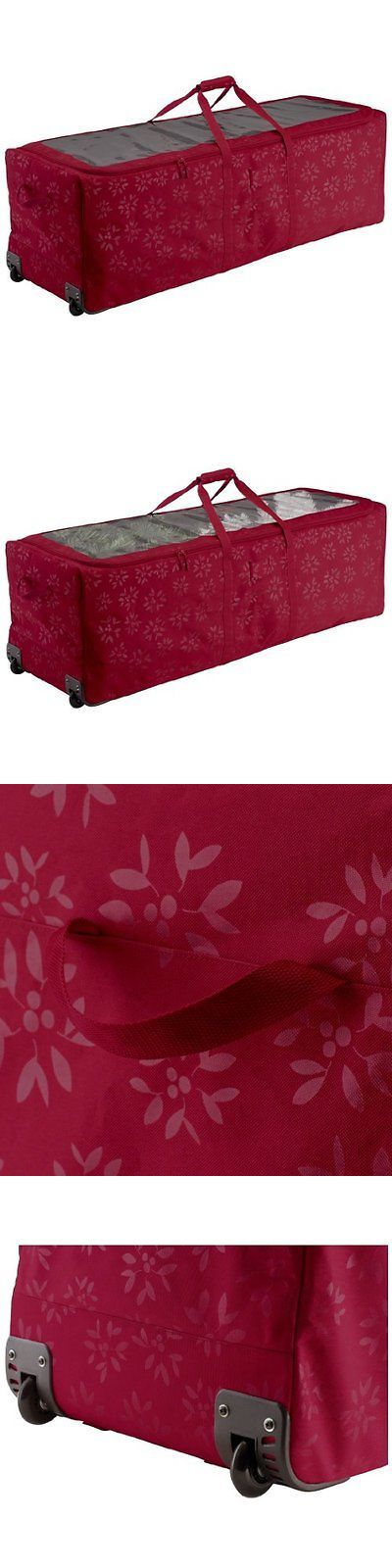 Tree Stands Skirts and Storage 166726: Artificial Christmas Tree Storage Bag Box Bin Rolling Container Tote Large Tub -> BUY IT NOW ONLY: $89.68 on eBay!