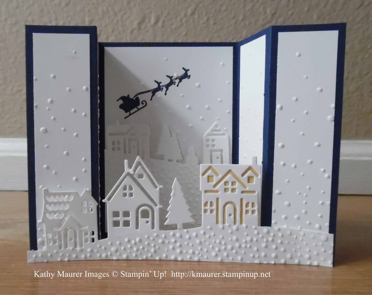 Hearts Come Home Bridge Fold Card : Kathy's Blog