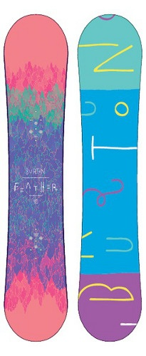 Burton Feather Women's Snowboards -- Bob's Chalet Ski & Snowboard Online Store... WANT ANOTHER BOARD...