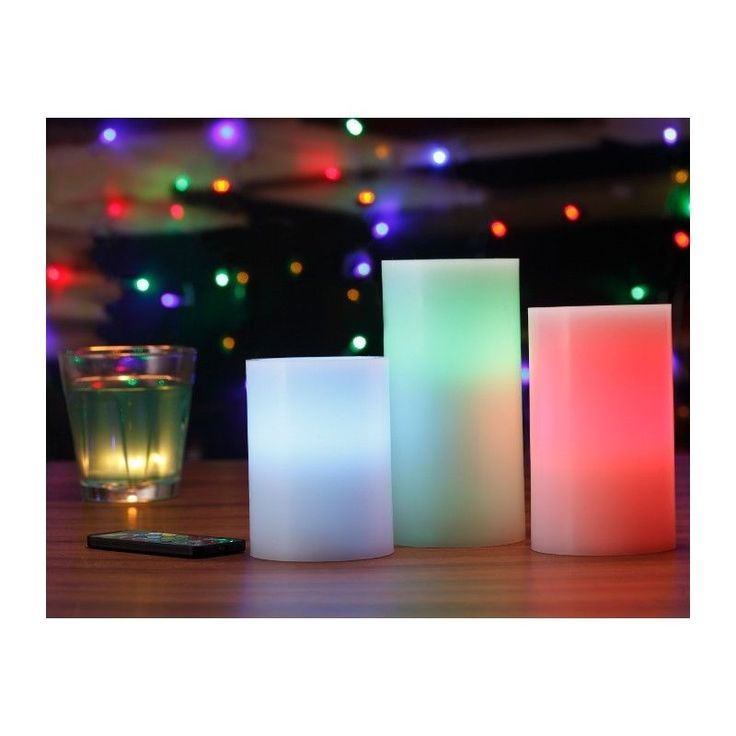 17 mejores ideas sobre velas led en pinterest luces - Velas led con mando ...