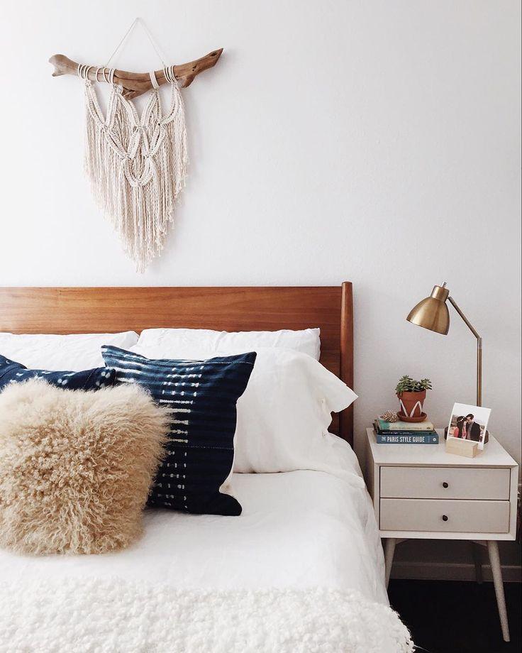 instagram @newdarlings - bedroom #mywestelm #bohohome