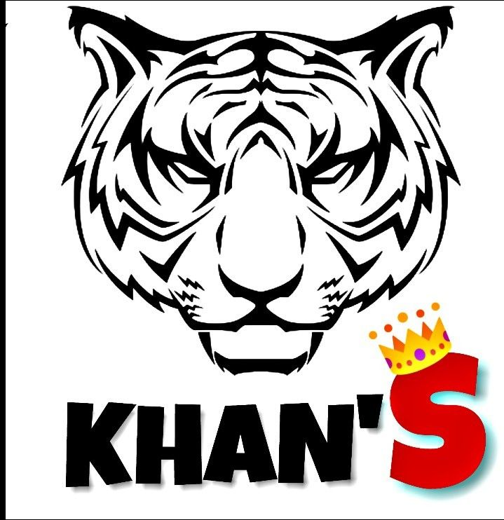 Khan S Logo With Images Name Logo Logos Fictional Characters