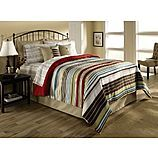 Cannon Variegated Stripe Comforter for Jacob's train room in twin size $20