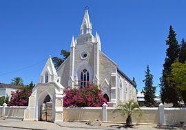 Dié kerkie op Clanwilliam is eers in 1864 voltooi volgens 'n ontwerp vanCarl Otto Hager, maar moes intussen weer plek maak vir die huidige kerkgebou, wat in 1964 in gebruik geneem is.