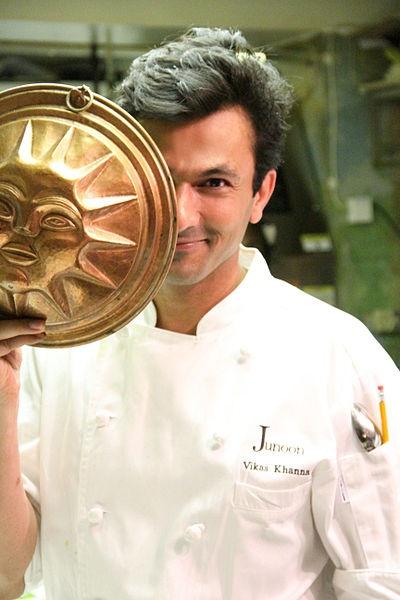 Chef Vikas Khanna.
