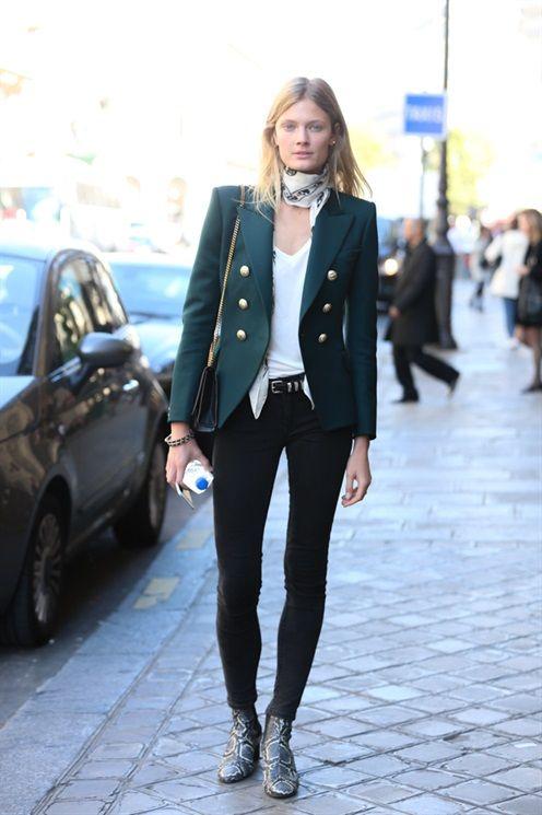 Model's look: lo stile delle modelle a Parigi - Vogue.it