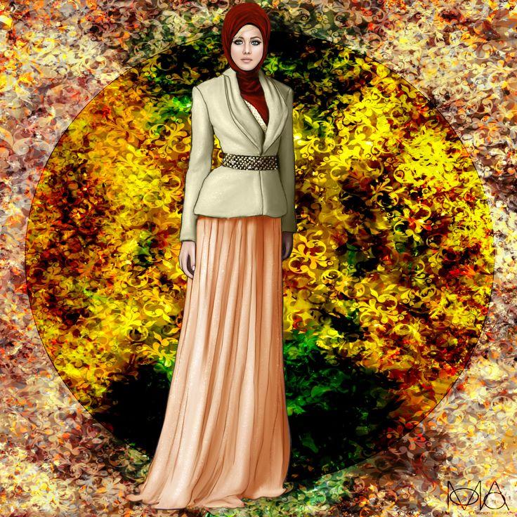 Jennifer Lawrence Celebrity Hijab Series