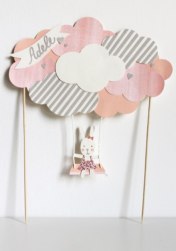 Customized cake topper // giochi di carta
