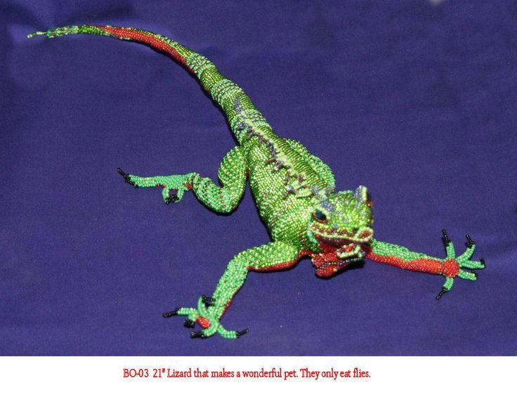 Guatemala Creations  - Large Lizard.  BAL-03, $99.99 (http://www.guatemalacreations.com/products/Large-Lizard.html)