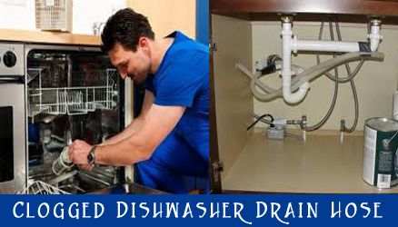 how to unclog dishwasher drain hose | Clogged Dishwasher Drain Hose is a very common scene in ...
