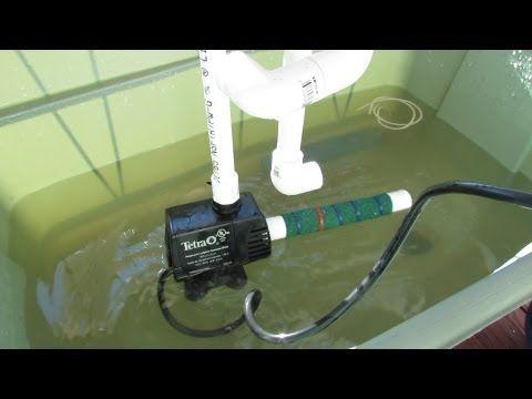 Comment faire un filtre maison pour une pompe submersible