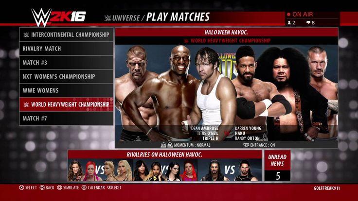 PRS VIDEOS PRESENTS WCW HALOWEEN HAVOC PPV LIVE,WWE2K16 P R S VIDEOS pre...
