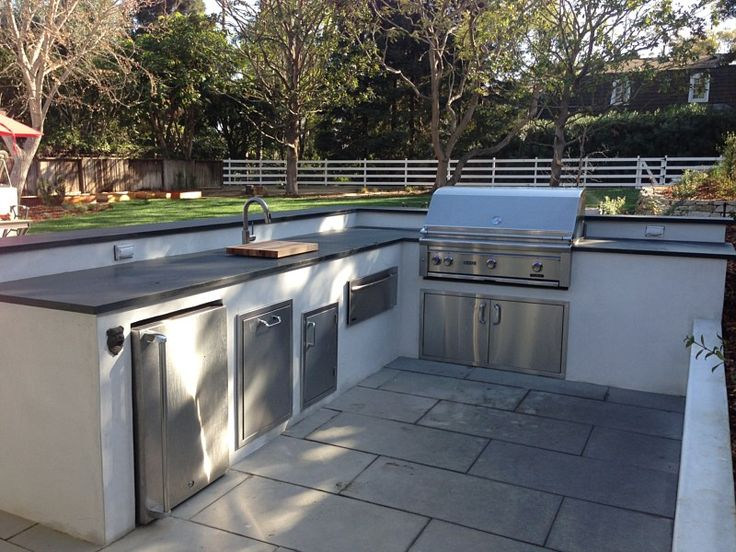 Image result for bbq islands with white stucco finish