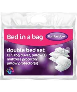 Slumberdown Bed in a Bag - Double.