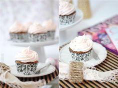 Receta: cupcakes de champán y fresas