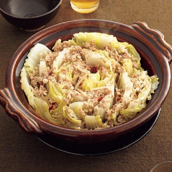 【節約レシピ】少量の肉でも満腹&満足な体にやさしい「白菜のとり梅蒸し鍋」