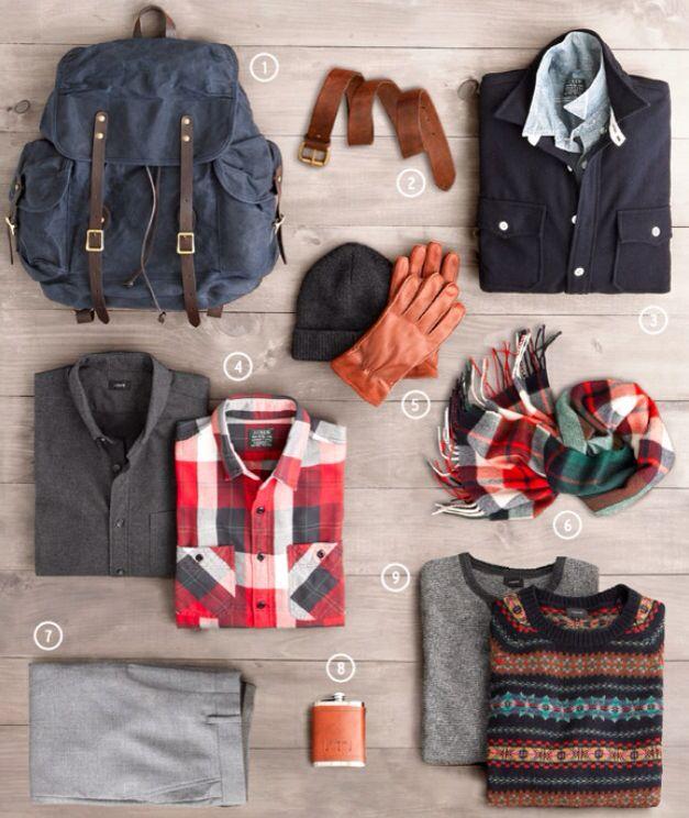 J.Crew Men's Winter Essentials 2014