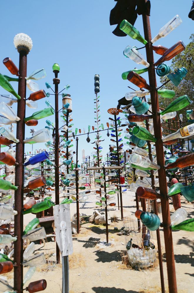 Bottle Tree Ranch in Barstow, California