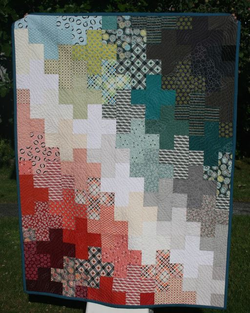 Plus Quilt   Create the Point